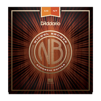 D'Addario NB1047 Nickel Bronze, 10-47